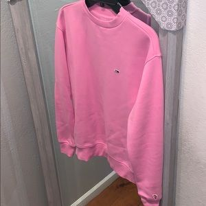Tommy Hilfiger pink crew neck sweater NeW